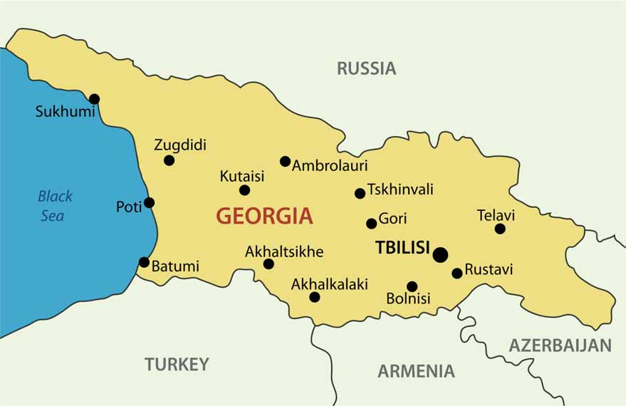 mbbs-in-georgia-map